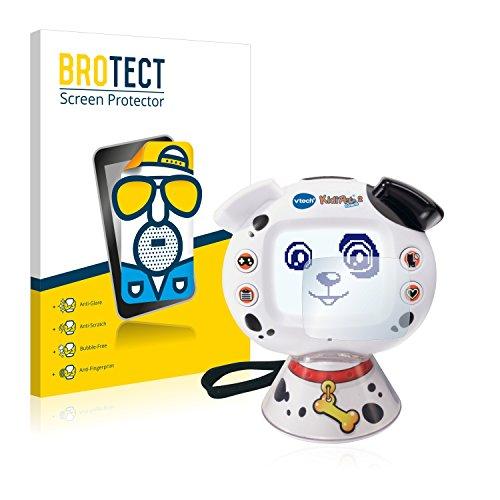 BROTECT Protector Pantalla Anti-Reflejos Compatible con Vtech KidiPet Touch 2 (Perro) (2 Unidades) Pelicula Mate Anti-Huellas