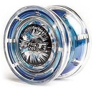 YOYO FACTORY Yoyofactory Yo-008Fast 201- Professional Yoyo with Patented System, Blue