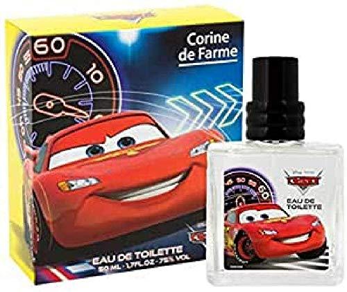 Corine De Farme | Parfum pour Enfant Cars | Eau De Toilette Disney | Formulation Garantie Clean Beauty | Fabrication 100% Française | 50 ml