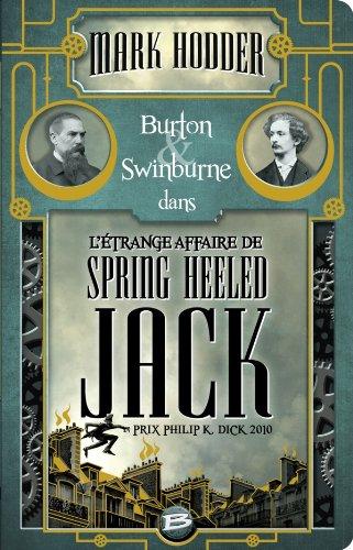 Burton & Swinburne L'Étrange affaire de Spring Heeled Jack: Burton & Swinburne