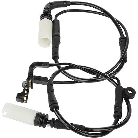 cciyu Professional Brake Pads wear Sensor Front Rear with 670 mm fit for BMW 525i//525xi//528i//528i xDrive//528xi//530i//530xi//535i//535i xDrive//535xi//545i//550i//645Ci//650i//M5//M6