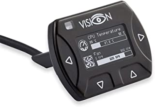 Aquacomputer Vision Touch with External USB Cable, IR Receiver and Ambient Temperature Sensor (53232)
