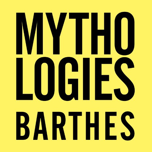 Mythologies audiobook cover art