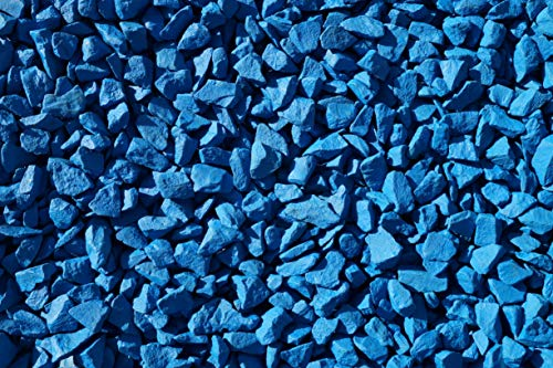 RockinColour Azure Blue 20kg decorative garden stone