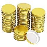 Urhause - Tapa de boca regular para tapas de tarro de latas de mason, 70 mm de...