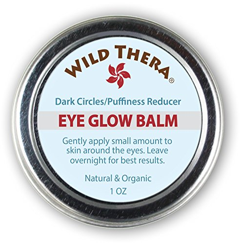 Wild Thera Under Eye Cream for bags under eyes. Eye serum for dark circles & bags. Natural Eye treatment for puffiness. Under eye cream with caffeine. Safe with Vitamin C serum & Eye mask.