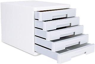 Classeur avec tiroir Fichier couches Cabinet de données supports à journaux Fournitures de bureau portables Tidy Porte-ABS...