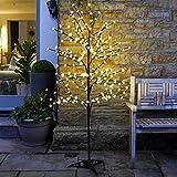 Festive Lights Arbre Lumineux 240 LED Fleurs de Cerisier Télécommandé - Décoration Intérieure...