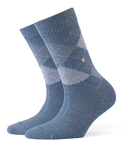 BURLINGTON Damen Socken Whitby - Warm Und Weich, 1 Paar, Blau (Blueb.Peel 6220), Größe: 36-41