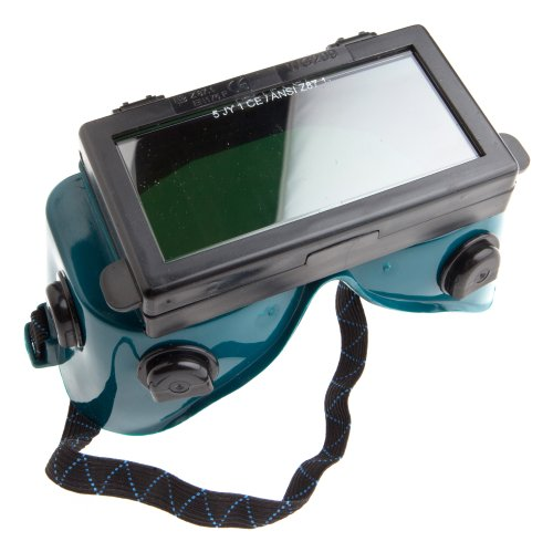 Product Image of the Forney 55320 Goggles, Oxygen Acetylene, Lift Front, Shade-5,Green and Blacks