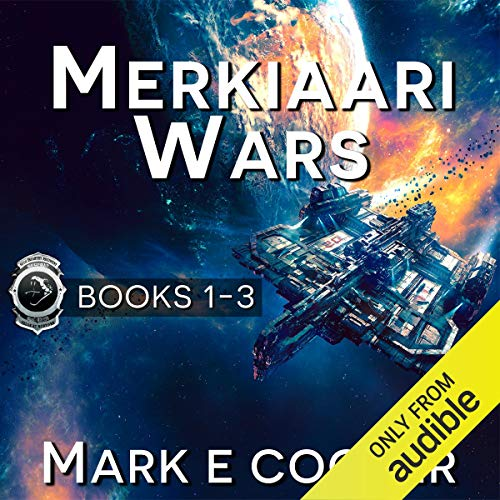 Couverture de Merkiaari Wars Series
