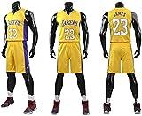 Enfant Homme Maillots de Basket-Ball NBA - Bulls Jordan 23, Lakers 23 James/24 Bryant, Warriors 30...