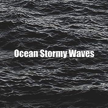 Big Waves on Sea Storm