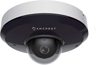 Amcrest ProHD 1080P PTZ Camera Outdoor, 2MP Outdoor Vandal Dome IP PoE Camera (3X Optical Zoom) IK08 Vandal-Proof, IP66 We...