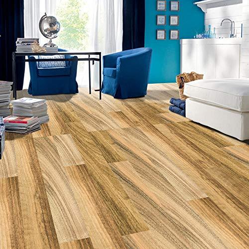 adhesivo para azulejos papel pintado autoadhesivo DIY autoadhesivo de grano de madera piso de contacto de papel que cubre PVC extraíble película decorativa pegatinas de pared Multi-Style-300 * 210cm