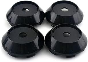 68mm Black ABS Car Wheel Center Hub Caps Base Set of 4 for Rota Slipstream ADVAN RS II