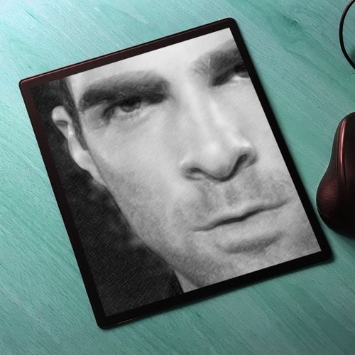 Seasons Zachary Quinto - Original Art Mouse Mat #js003