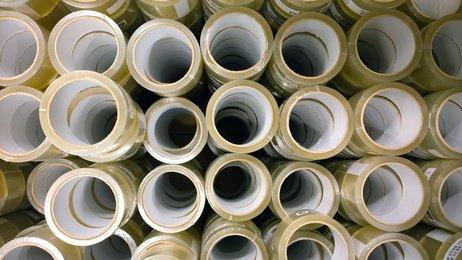 36 Rollen Klebeband Paketklebeband Packband 48x55m transparent, klar, hotmelt Qualität, für Päckchen, Karton und Kisten Verpackung