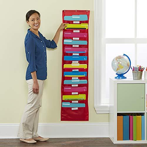 Educational Insights Space Place Pocket Chart Classroom or Homeschool Storage, Teacher & Parent Organization Center