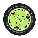 Garsent Peso récord, estabilizador de Peso Music Hall LP Disco de Vinilo Disco Giratorio Burbuja Grado Tonos de los Brazos Configuración Nivel de Burbuja(Negro)