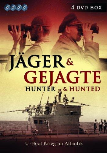 Jäger und Gejagte - U-Boot Krieg im Atlantik ( 4 DVD BOX )