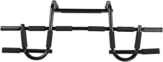 Zerone Pull Up Bar, Heavy Duty Doorway Chin Up Bar Trainer Door Mounted Upper Body Workout Bar for Gym Home Exercise Fitness