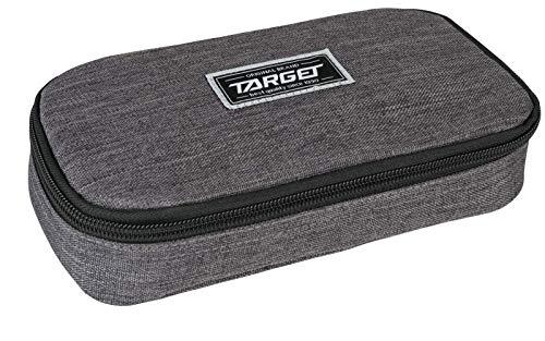 Target Compact College Pencil Case Unisex-Adult, Noir, Taille Unique