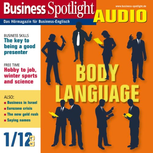 Business Spotlight Audio - Body language. 1/2012 Titelbild