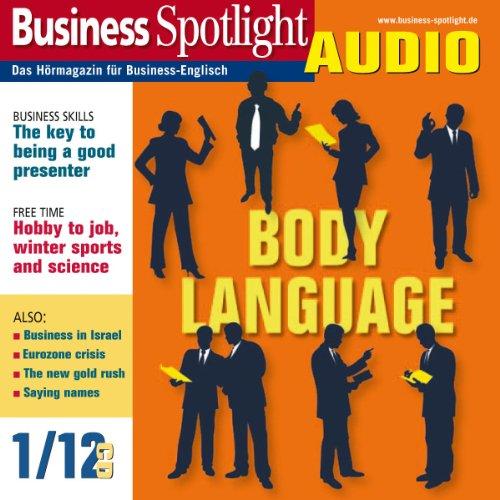 Business Spotlight Audio - Body language. 1/2012 audiobook cover art