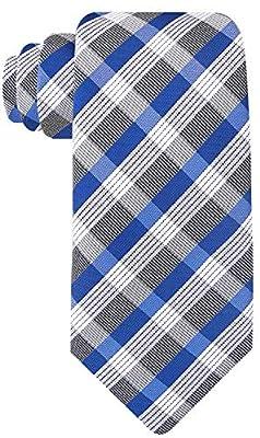 Check Stripe Ties for Men - Woven Necktie - Mens Ties Neck Tie by Scott Allan