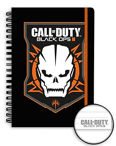 Calepin DIN A5 Call of Duty - Black Ops III Logo