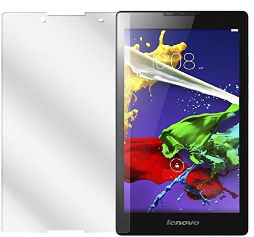 dipos I 2X Schutzfolie klar kompatibel mit Lenovo Tab 2 A8-50 Folie Bildschirmschutzfolie