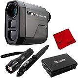 Nikon PROSTAFF 1000 6X 20mm Laser Rangefinder (16664) + Deco Gear Tactical Set Bundle