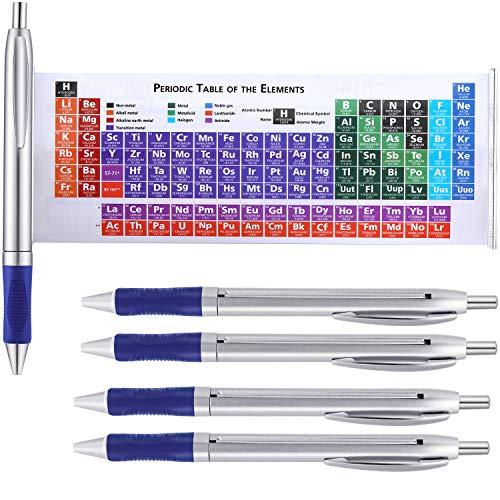 Chemie Elemente Periodensystem Stift Kugelschreiber mit 2020 und 2021 Kalender für Freunde Lehrer Familie Kreatives Geschenk (10)