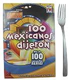 100 Mexicanos Dijeron Board Game Mini Size (Spanish Edition)