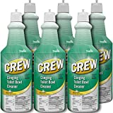 Diversey Crew Clinging Toilet Bowl Cleaner Squeeze Bottle, 32 Ounces (6 Pack)