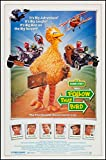 SESAME STREET FOLLOW THAT BIRD original 1985 ROLLED 27x41 one sheet movie poster JOHN CANDY/CHEVY CHASE