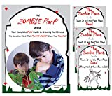 """Zombie Plant Seeds with Free Book. The Zombie Plant""""Plays Dead"""" When Touched. 20 Fun Science Activity Projects. Discover How to Grow Your Own Zombie Plant Indoors Year Round! Includes 3 Seed Packets."""