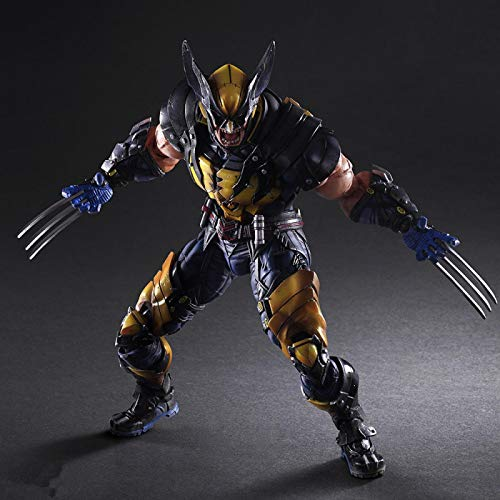 26 Cm Marvel X-Men Wolverine Figure Action PVC Figure Raccolta Di Giocattoli Modello Come Regali per Bambini