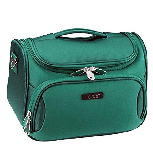 D&N Travel Line 6404 Beauty Case da viaggio, 33 cm, 14 liters, Turchese (Petrol)