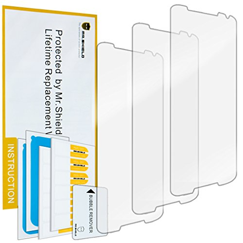 Mr.Shield for Motorola Moto X (2nd Generation) Premium Clear Screen Protector [3-Pack] with Lifetime Replacement
