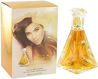 Kim Kardashian Pure Honey by Kim Kardashian Eau De Parfum Spray 3.4 oz for Women - 100% Authentic