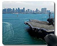 マウスパッド、空母USSキティホーク軍艦ゲーミングマウスパッドマルチYT77