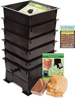 Worm Factory DS5BT 5-Tray Worm Composting Bin + Bonus
