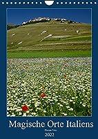 Magische Orte Italiens (Wandkalender 2022 DIN A4 hoch): Doerfer und Orte Italiens, die man gesehen haben muss! (Monatskalender, 14 Seiten )