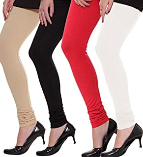Ezee Sleeves Combo Women's Cotton Leggings of 4