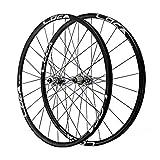 VHHV MTB Bicicleta Juego de Ruedas 26/27.5/29 Pulgadas HB09 / PA24 Aleación de Aluminio 24H Pared Doble Llanta (Size : 29 Inches)