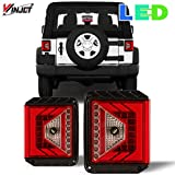Renegade Series by Winjet Compatible with [2007-2017 Jeep Wrangler] LED Tail Light, RNGT0490-CR