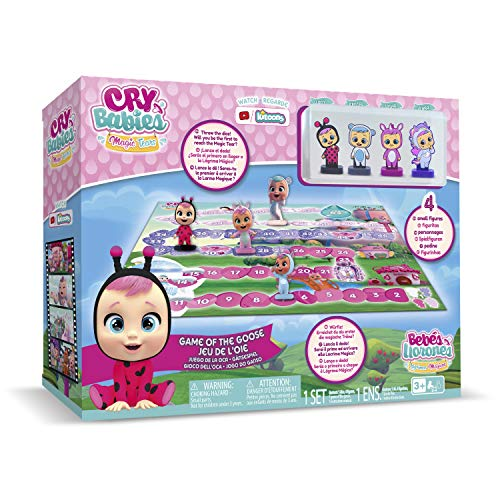 BEBÉS LLORONES LÁGRIMAS MÁGICAS Juego de la Oca (IMC Toys 80218IM)
