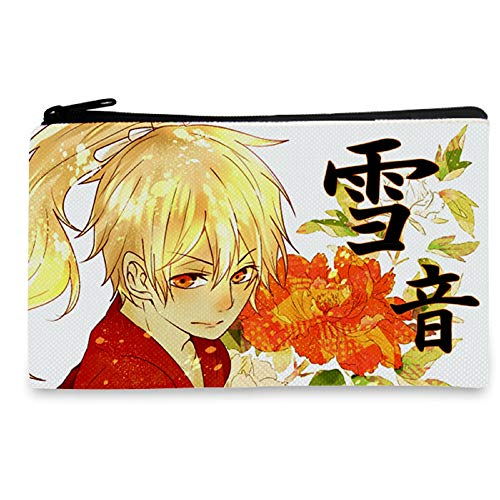 YOYOSHome Anime Noragami Cosplay Kosmetiktasche Zero Wallet Federmäppchen Stifttasche Münztasche, Weiß - 1 - Größe: Medium
